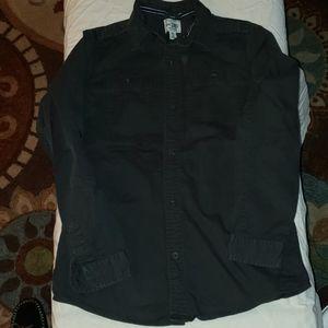 BOYS  Black Button down Shirt